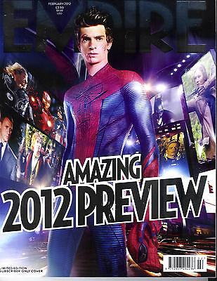Imperio N º 272 Febrero 2012 Amazing 2012 Preview/Spider-Man/Streep/Fiennes