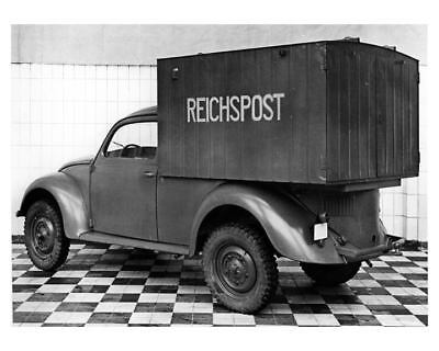 1946 VW Beetle Germany Post Office Factory Photo Reich m2197-ZV1YVT