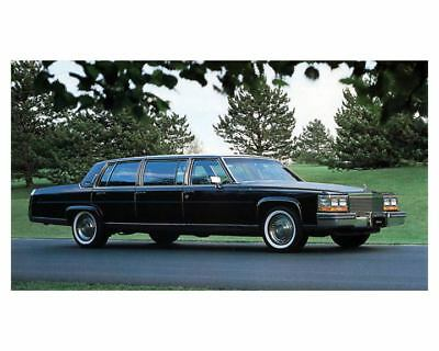 1988 Cadillac Superior Brougham 6-Door Limo Factory Photo m2253-HZHYAW