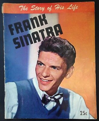 Frank Sinatra 'The Story of His Life' Magazine, 1945, Crosby, Kelly, Garland...