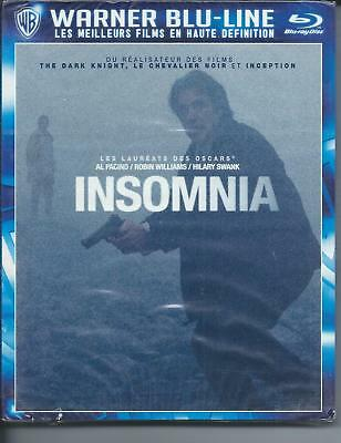 Blu Ray INSOMNIA Al Pacino, Robin Williams Neuf sous cellophane