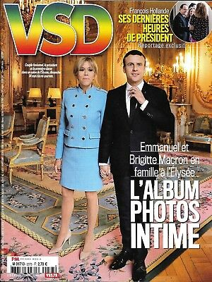 Vsd No.2073 18 May 2017 The Macron With'elysee_Holland_Hockey_Dumont_Sports