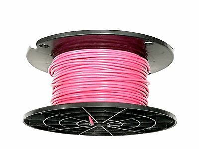 18 Gauge Primary Wire Pink 1000 Ft Awg Stranded Copper Power Ground Mtw