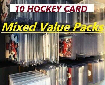 10 Hockey Card Mix Value Packs 3 Types of Packs to Choose From - See Items