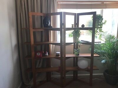 ORIGINAL TEAM 70S Vintage Display CabinetRoom Dividershelf g