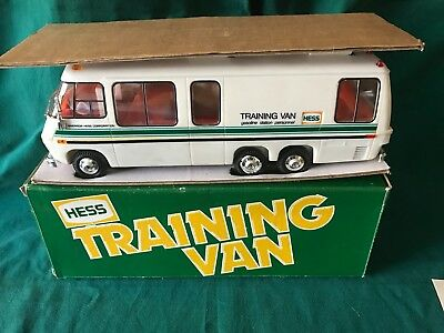 """1978 Hess """"training Van"""" Mint Condition-Lights Work-New With Box"""