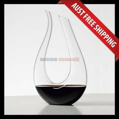 Amadeus Wine Decanter, Crystal Red Wine Decanter, Brand New, Aussie Station