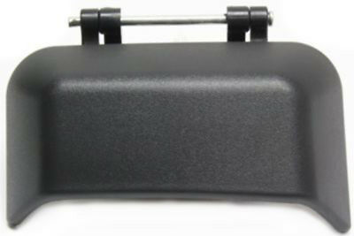 Rear Passenger Side Black Exterior Door Handle for 2007-2015 Jeep Compass
