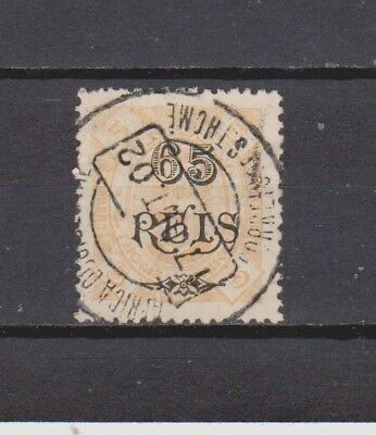 Portugal / S. Tomé - 1902 - K. Carlos Surcharged - 65/5 R Stamp (2 Scans)