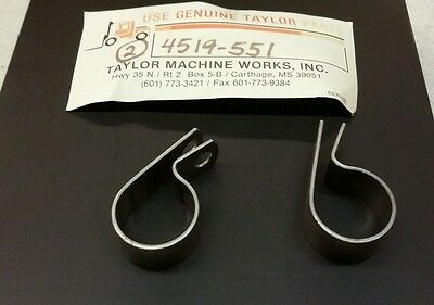 Taylor Forklift Clamps 2 pcs 4519-551 New 2 piece