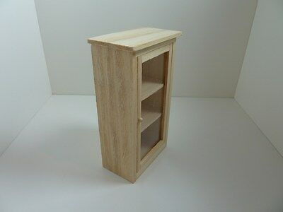 Dolls House Miniature 1:12 Scale Furniture Kitchen Utility Cupboard Shelves