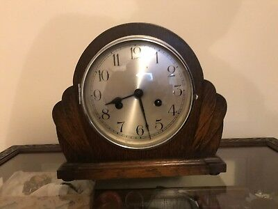 1930s mantle clock - well looked after - and in working order