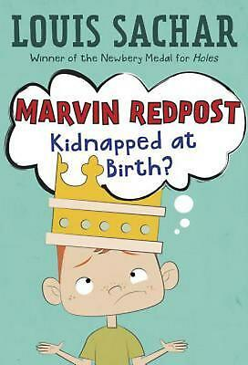 Marvin Redpost #1: Kidnapped at Birth? by Louis Sachar (English) Paperback Book