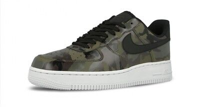 Nike Air Force 1 07 LV8 Camo Shoes (823511-201) Mens Size 11.5