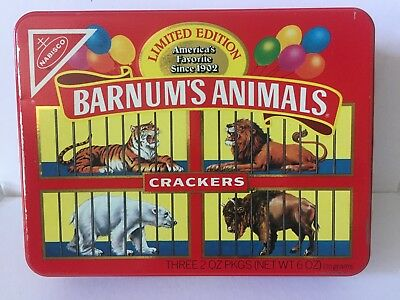 BARNUM'S ANIMALS® CRACKERS tin Limited Edition 1989
