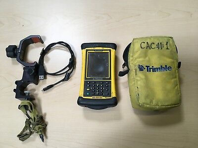 Trimble Nomad Data Collector with Trimble MEP Software