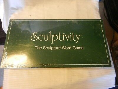 Sculptivity The Sculpture Word Game from Son Of Martin Inc. 1987 Brand New