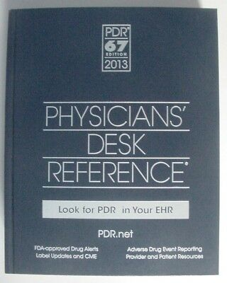 Physician Desk Reference PDR 67 Edition 2013