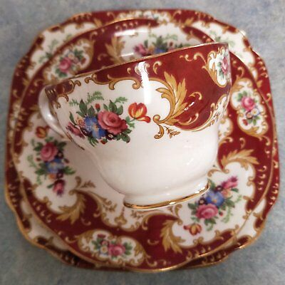 Lady Fayre Cup Saucer and Plate Set