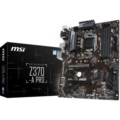MSI Z370-A Pro ATX Mainboard Sockel 1151 (Coffee Lake)