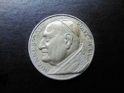 Pope John The 23Rd, 1958-1963, Pewter Commemorative Medal
