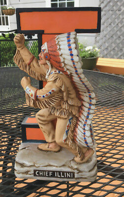 Illini Decanter-Chief Illini #4 1991 Collectors Limited Edition