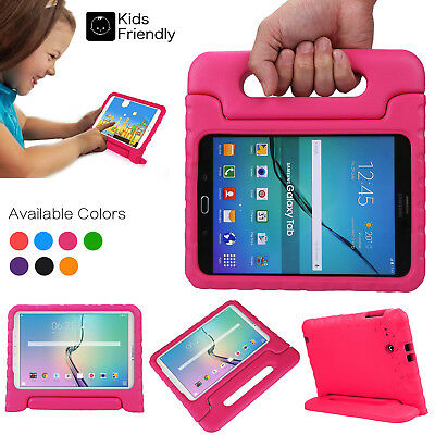 For Samsung Galaxy Tab E 7.0/8.0/9.6 Kids Handle Stand EVA Shockproof Cover Case