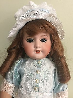 Antique Doll SFBJ 60 Bisque On A Comp Body 19""