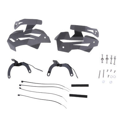 1 Pair Motorcycle Metal Valve Protector Guard Covers for BMW R1200R LC Grey