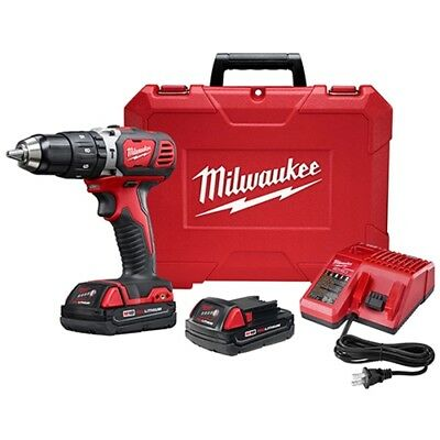 "Milwaukee 2607-22CT M18 1/2"" Hammer Drill Compact Kit"