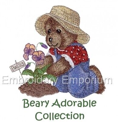 Beary Adorable Collection - Machine Embroidery Designs On Cd