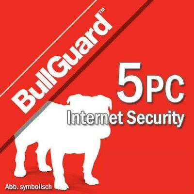 Bullguard Internet Security 2019 5 dispositivos 5 PC 1 año PC 2018 EU / ES