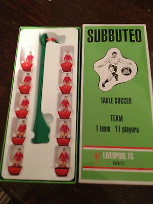 Subbuteo Legends / Leggenda Vintage Team - Liverpool 1976/77