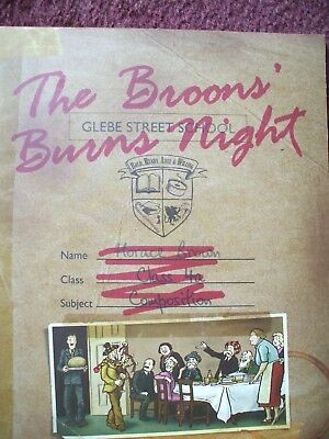 Broons / Oor Wullie  Broons Burns Night Recipes Poems S0Ngs Etc Softback  Vgc