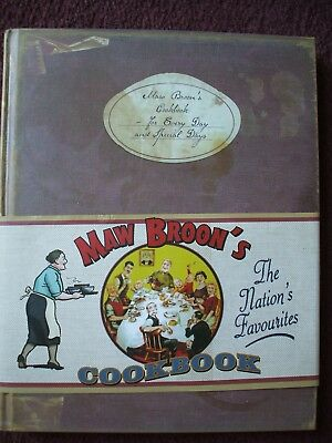 Maw Broons Cookbook Hardback  Vg Condition For Every Day And Special Days 2011