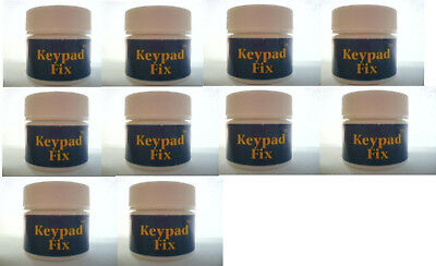 Keypad Fix 10-Pack Lot - Repairs Keypads