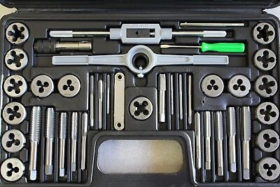 Tap and Die Set 40 Piece SAE