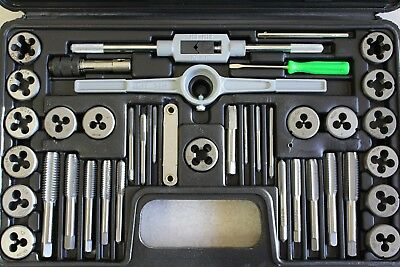 Tap and Die Set 40 Piece SAE # 87