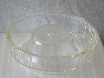 Antique '30s/40's Round Queen Anne GLASBAKE Dish Ring/Mold - Great Condition!
