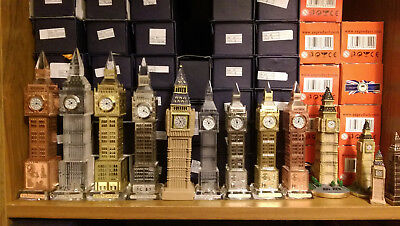 London Big Ben Crystal Souvenirs Tower Clock with LED Lights GB UK British Gift