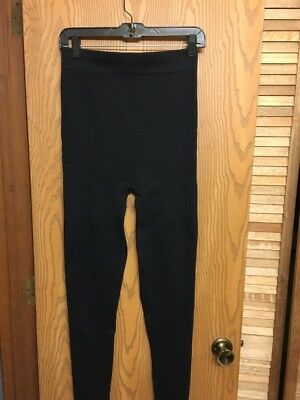 BLANQI High Performance HIGH WAISTED Post Partum LEGGINGS BLACK Size L Large USA