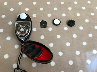 Sekonic Studio Deluxe L-398 Classic Analogue Light Meter