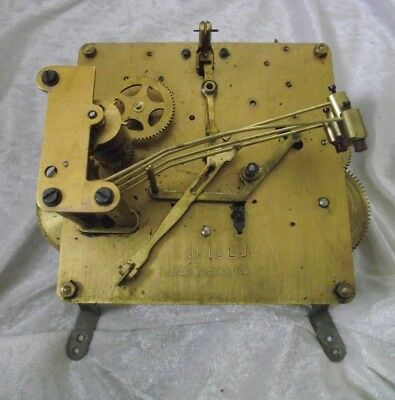 Vintage MANTLE Clock Movement BY ENFIELD  spares or repairs