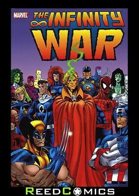 INFINITY WAR GRAPHIC NOVEL (392 Pages) Paperback Collects 6 Part Series + more