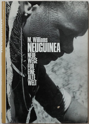 1966 New Guinea book, 43 images of ethnographic interest, tribsl cultures