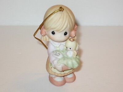 Precious Moments Sister, You're An Angel To Me Porcelain Ornament 610031 2006