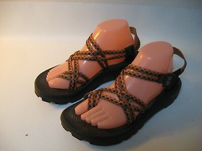 8488a3dc3cda CHACO ZX 2 WOMEN S Orange Nylon Sport Sandals - US 10 -  64.97 ...