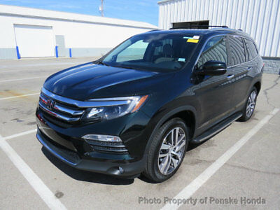 Honda Pilot Touring AWD Touring AWD 4 dr SUV Automatic Gasoline V6 Cyl Black Forest Pearl