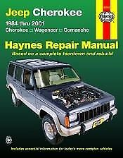 Jeep Cherokee, Wagoneer and Comanche (84 - 01) - Repair Manual Haynes
