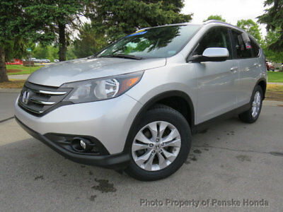 Honda CR-V AWD 5dr EX-L w/Navi AWD 5dr EX-L w/Navi 4 dr SUV Automatic Gasoline 4 Cyl Engine Alabaster Silver Me